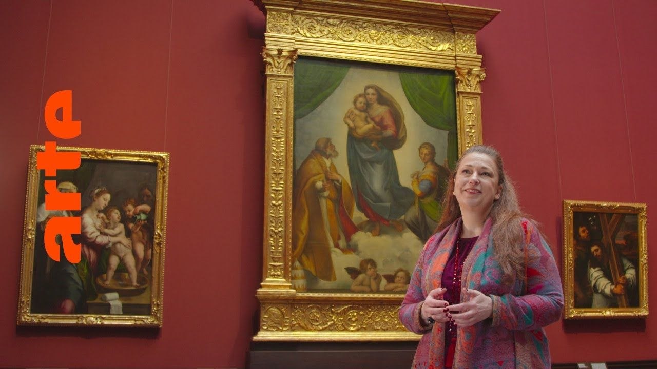 Rundgang Durch Leere Museen Die Sixtinische Madonna Von Raffel Alle In 2020 Madonna Museum Alte Meister