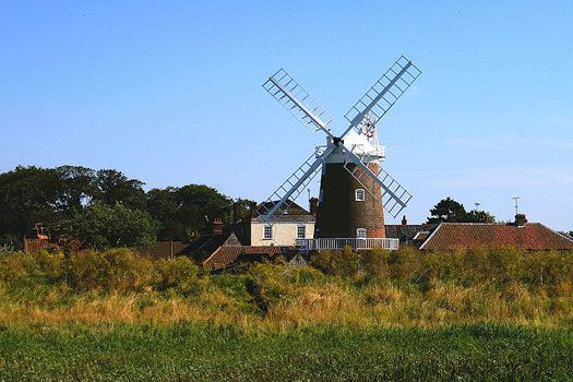 Windmill, Cley-next-the-Sea, Norfolk, England