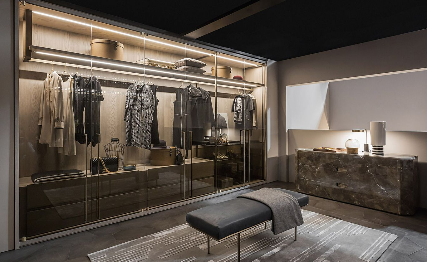 stylist and luxury modern closet designs. Room shake  salone del mobile 2017 Wardrobe Closet Dressing