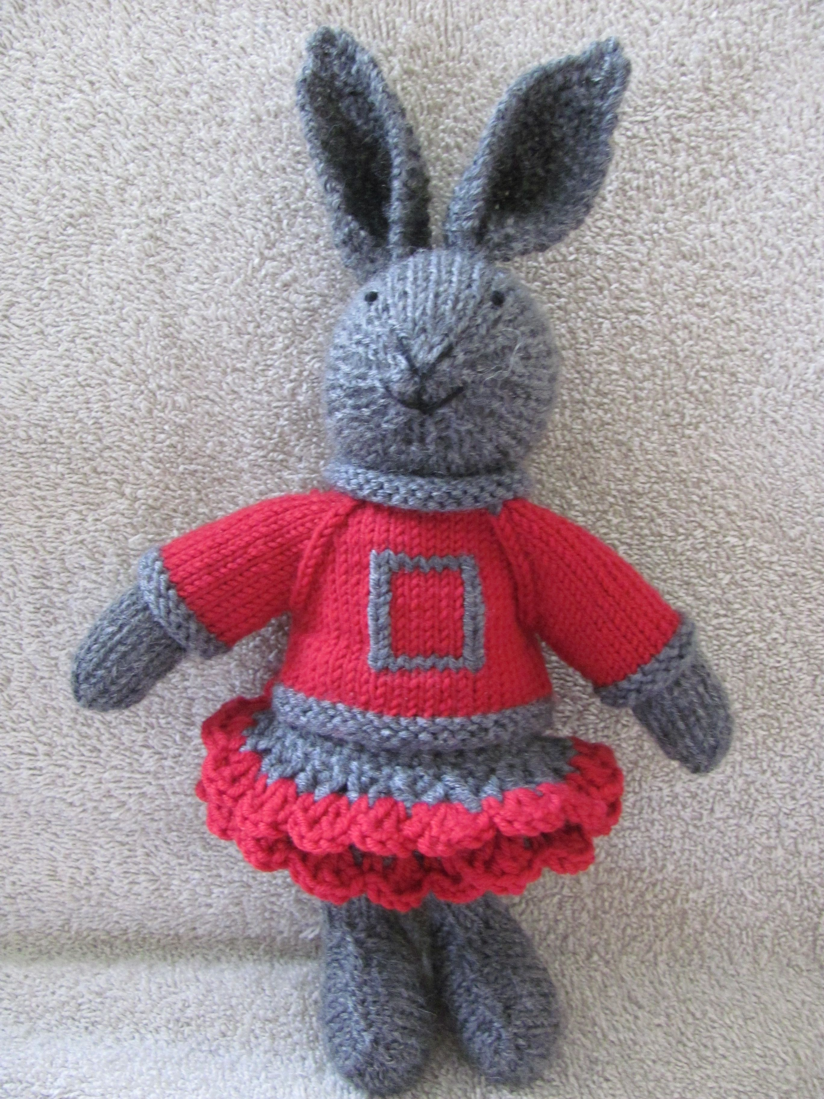 The Ohio State University Bunny Cheerleader