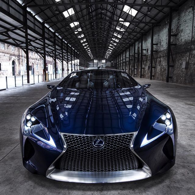Lexus Lf Lc Sports Car Could Be Made Will It Be A Hybrid: The Second Version Of The #LexusLFLC Made Its Debut At The