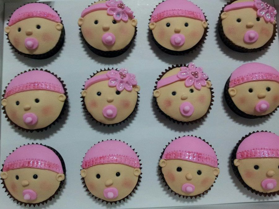 Baby Shower Cupcake Decorations Baby Shower Cupcakes For Girls