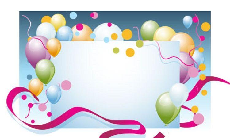 creative birthday invitation card