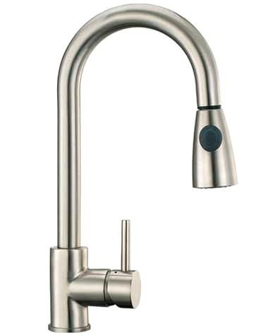 Brushed Nickel Kitchen Faucet Sink Faucet Taps From China