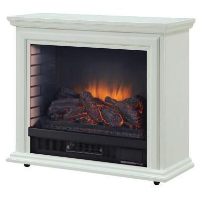 Sheridan Mobile Fireplace White Fireplace Infrared Fireplace
