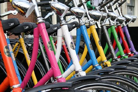 Are Bike Shares Ready for the Big Apple? Rainbow bike
