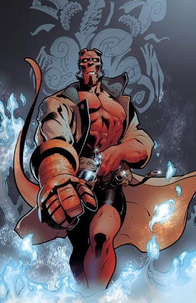 Thermal Resistance | My powers | Comic book artists, Hellboy
