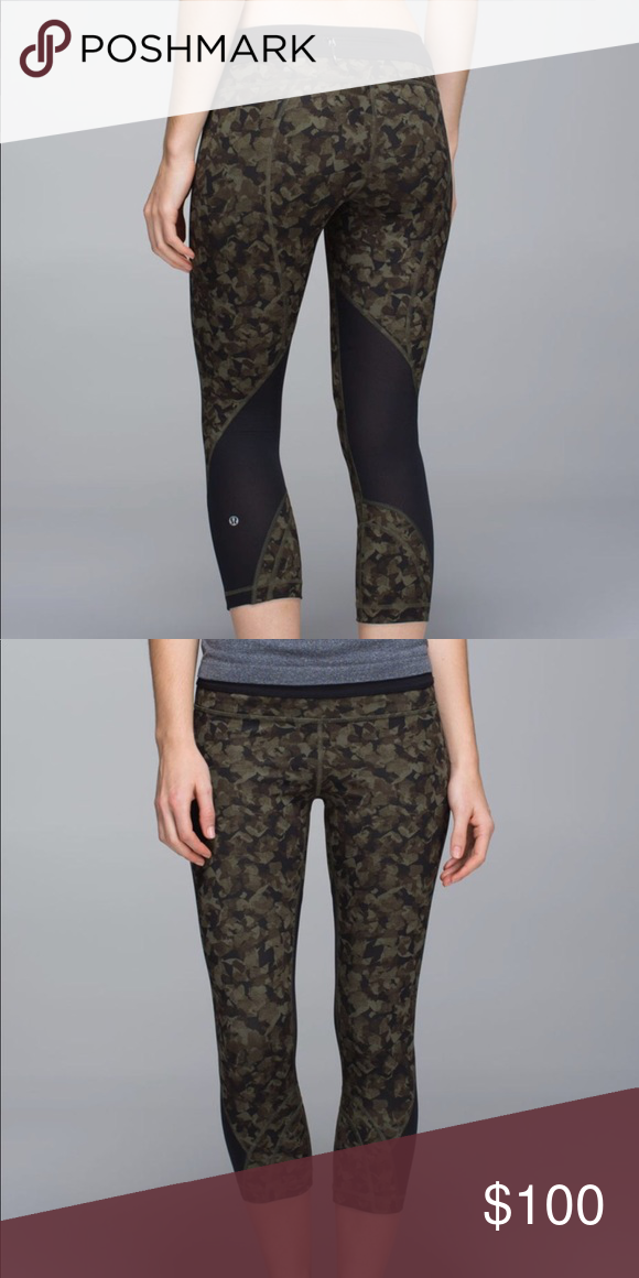 b29c54022 Lululemon run inspire crops Key features Full-On Luxtreme® fabric is  sweat-wicking and four-way stretch with added LYCRA® fibre for great shape  retention ...
