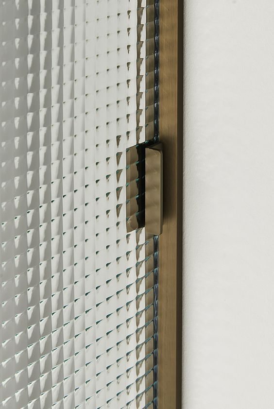 Details By Izabela Mil Textured Glass Door Door Glass Design Door Handle Design