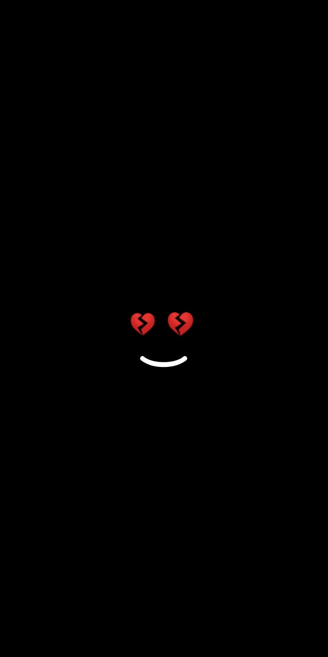 Im Fine Black Wallpaper Broken Heart Wallpaper Glitch Wallpaper Heart Wallpaper