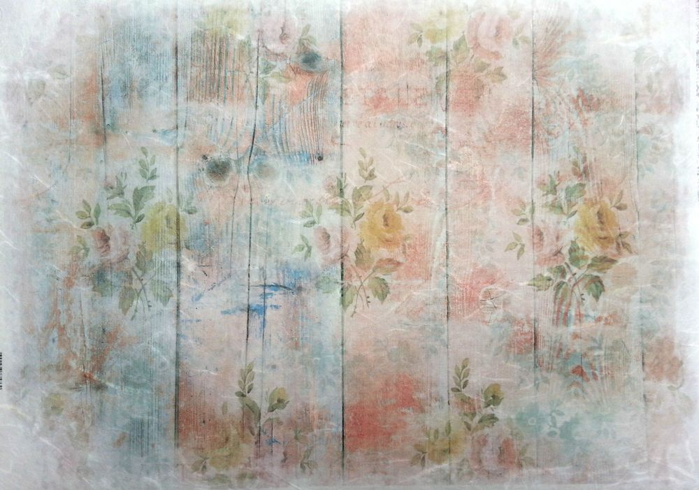 Rice Paper for Decoupage  Decopatch Scrapbooking Sheet Craft Vintage Board & Flo