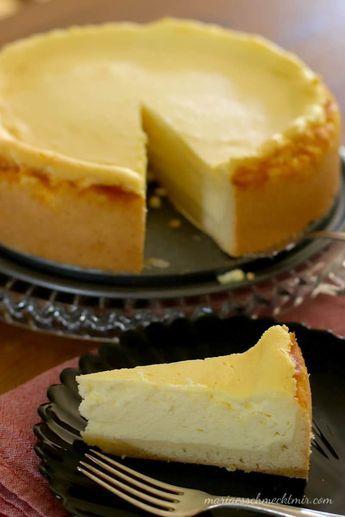 Der perfekte Käsekuchen — Maria, es schmeckt mir!