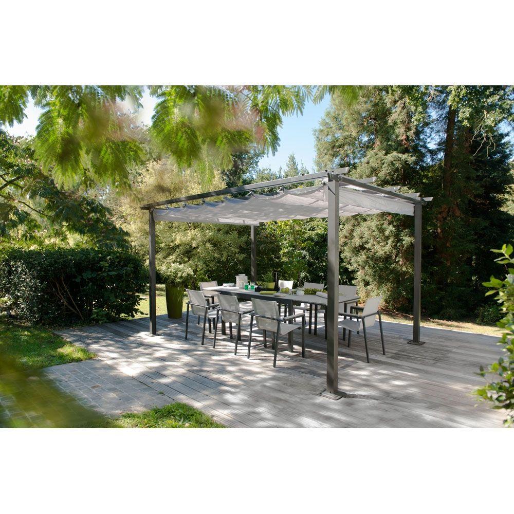 Bois Flotté Pour Pergola tonnelle montana - tonnelles - bricorama | jardins, pavillon