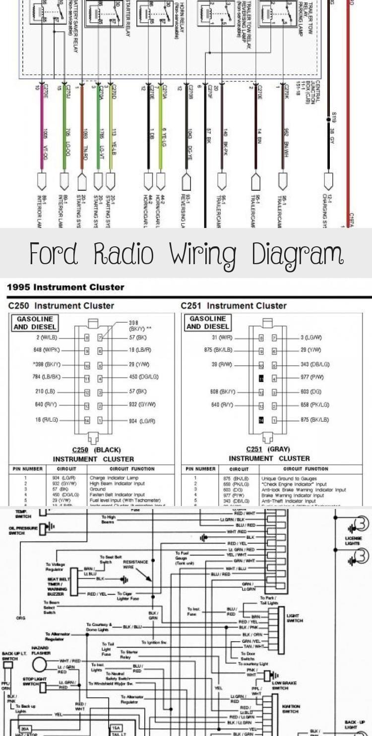 Ford Radio Wiring Diagram Fordrangersport Fordrangergrey Fordrangeroverland Fordrangeraccessories Fordranger1990 In 2020 Ford Ford Ranger Radio