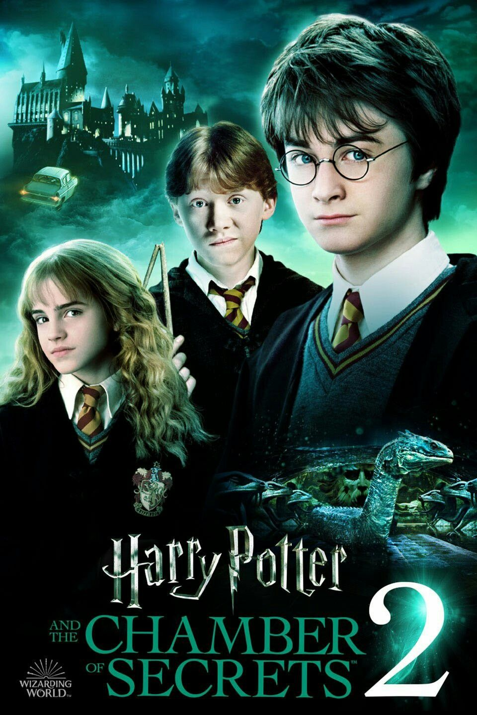 Harry Potter And The Chamber Of Secrets Harry Potter Films Harry Potter Movie Posters Harry Potter Film