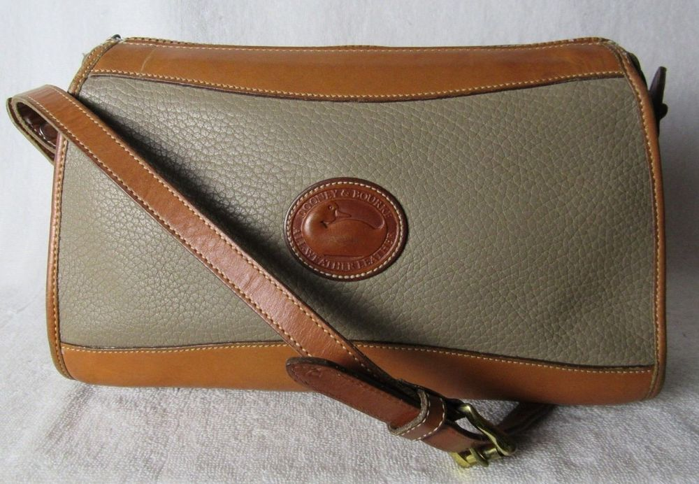 300e0d151 Dooney   Bourke AWL Leather cross body shoulder bag handbag purse ...