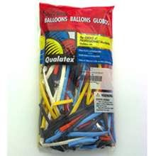 Qualtext Assorted Modelling Balloons,W4F0516,Balloons