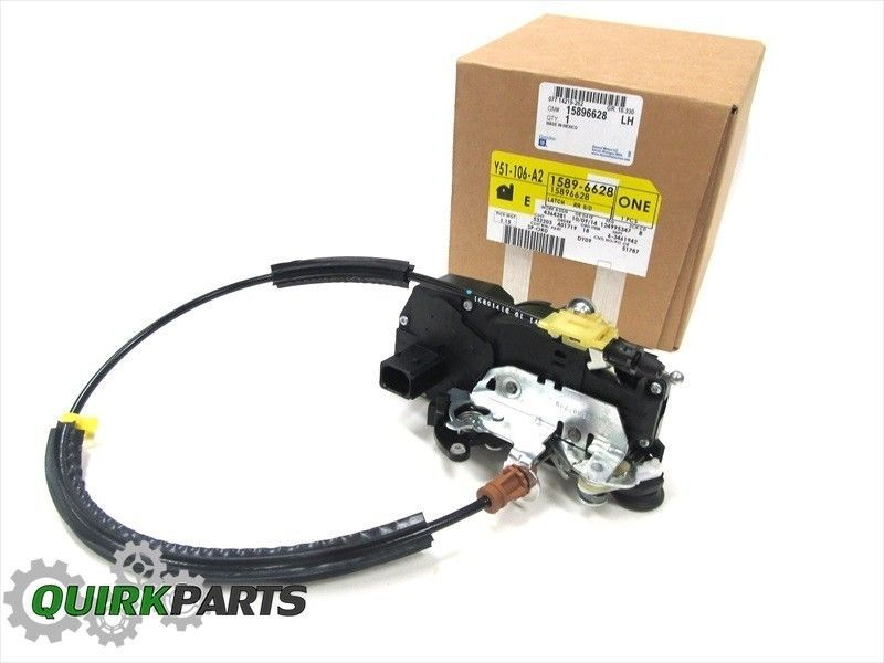 07 08 Suburban Avalanche Tahoe Yukon Left Rear Door Lock Actuator Motor Oem New Door Locks Actuator Oem