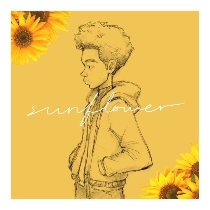 Arvy Ewaldo On Instagram Miles Sketch While Looping Sunflower Post Malone Swae Lee Cover Remake By Post Malone Wallpaper Sunflower Drawing Post Malone