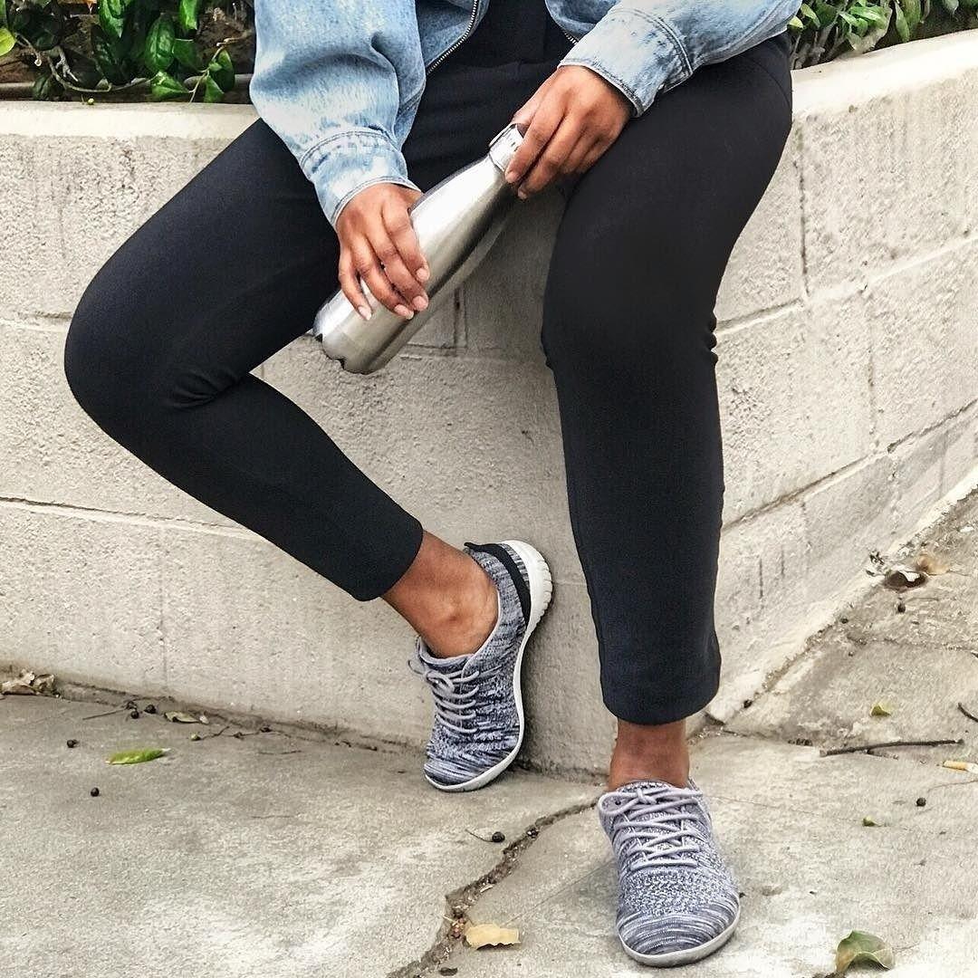 Raelyn Knit Tie Sneaker | Knit tie