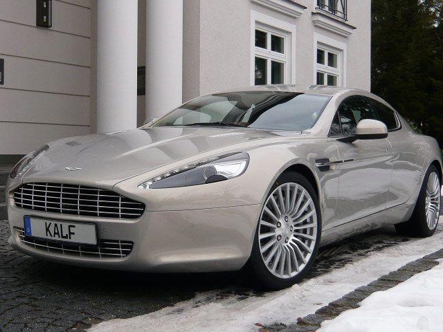 Aston Martin Silver Blonde