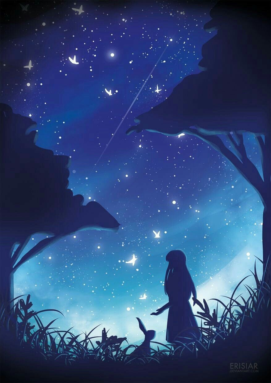 Pin oleh Chan Aye di fotografía Pemandangan anime