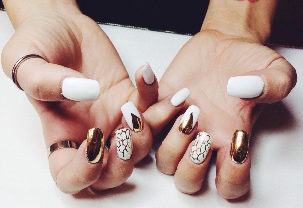 Gold Digger Angelica Blick Beautiful Nail Art