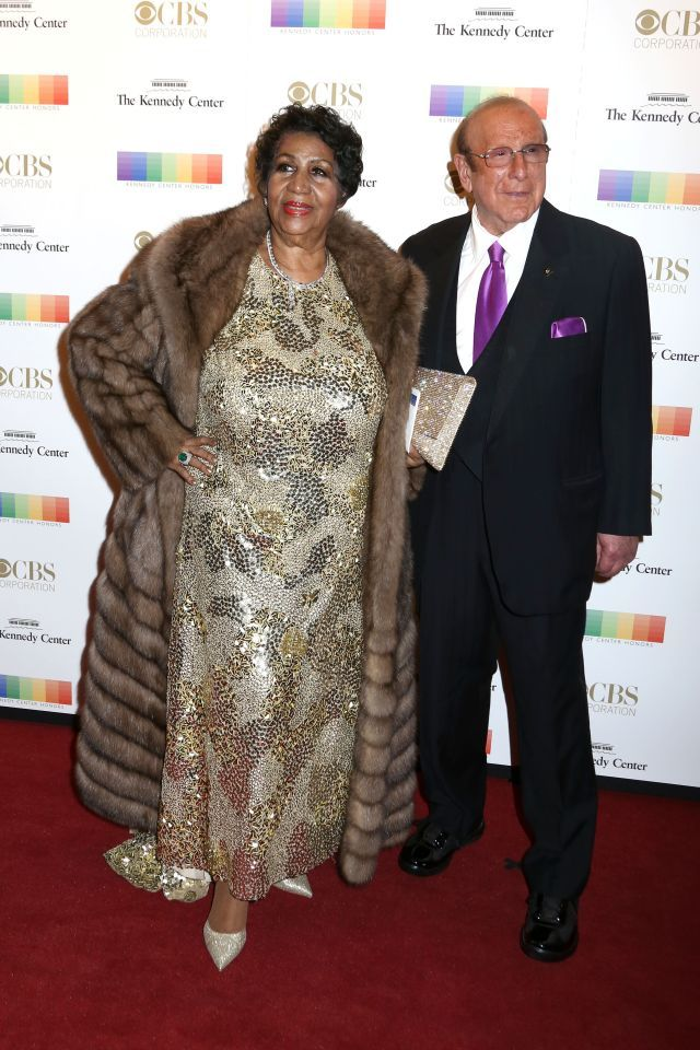 Aretha Franklin Wore An Amazing Mink Coat To The Kennedy Center
