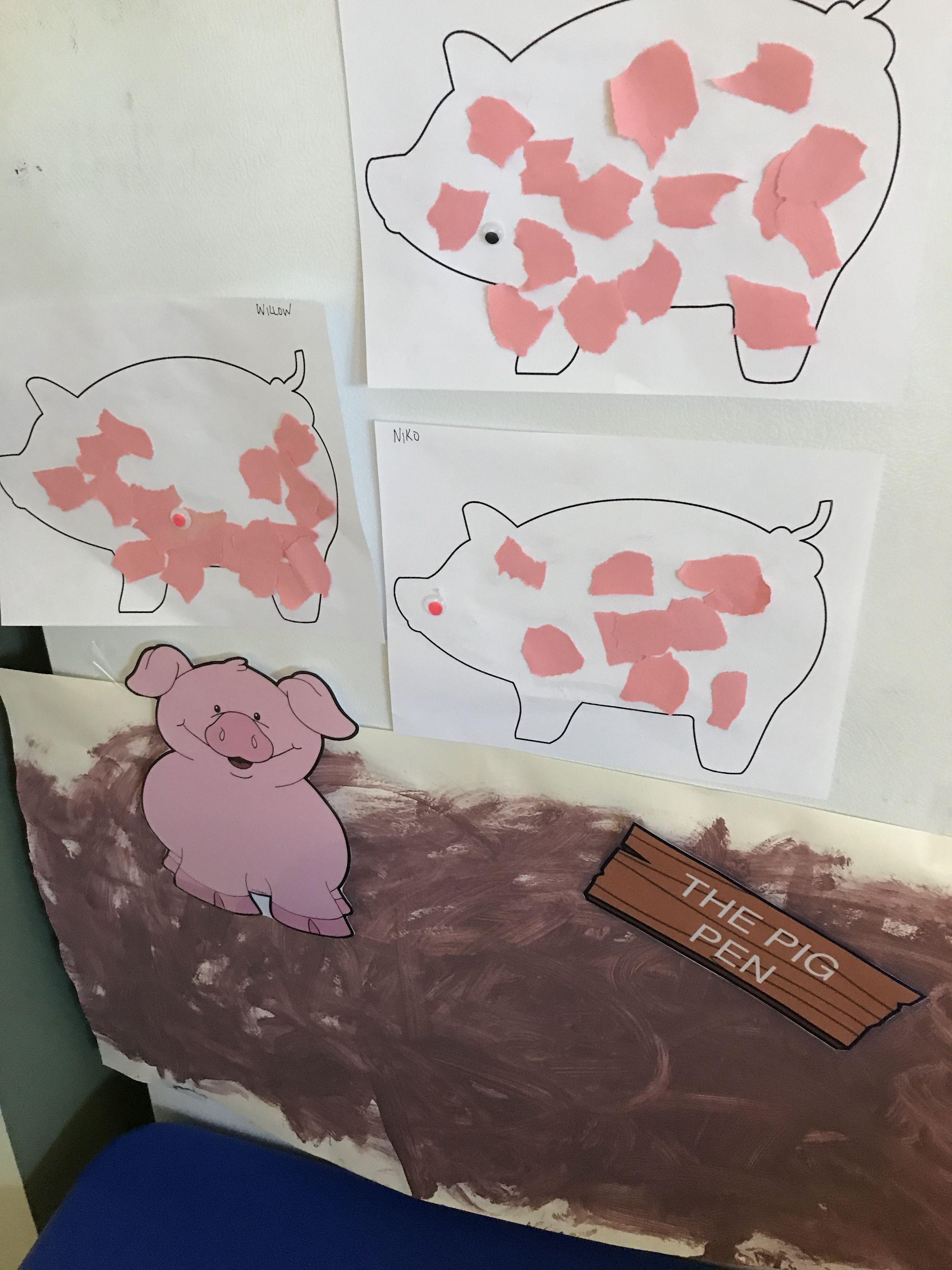 Cute Pig Pen Craft
