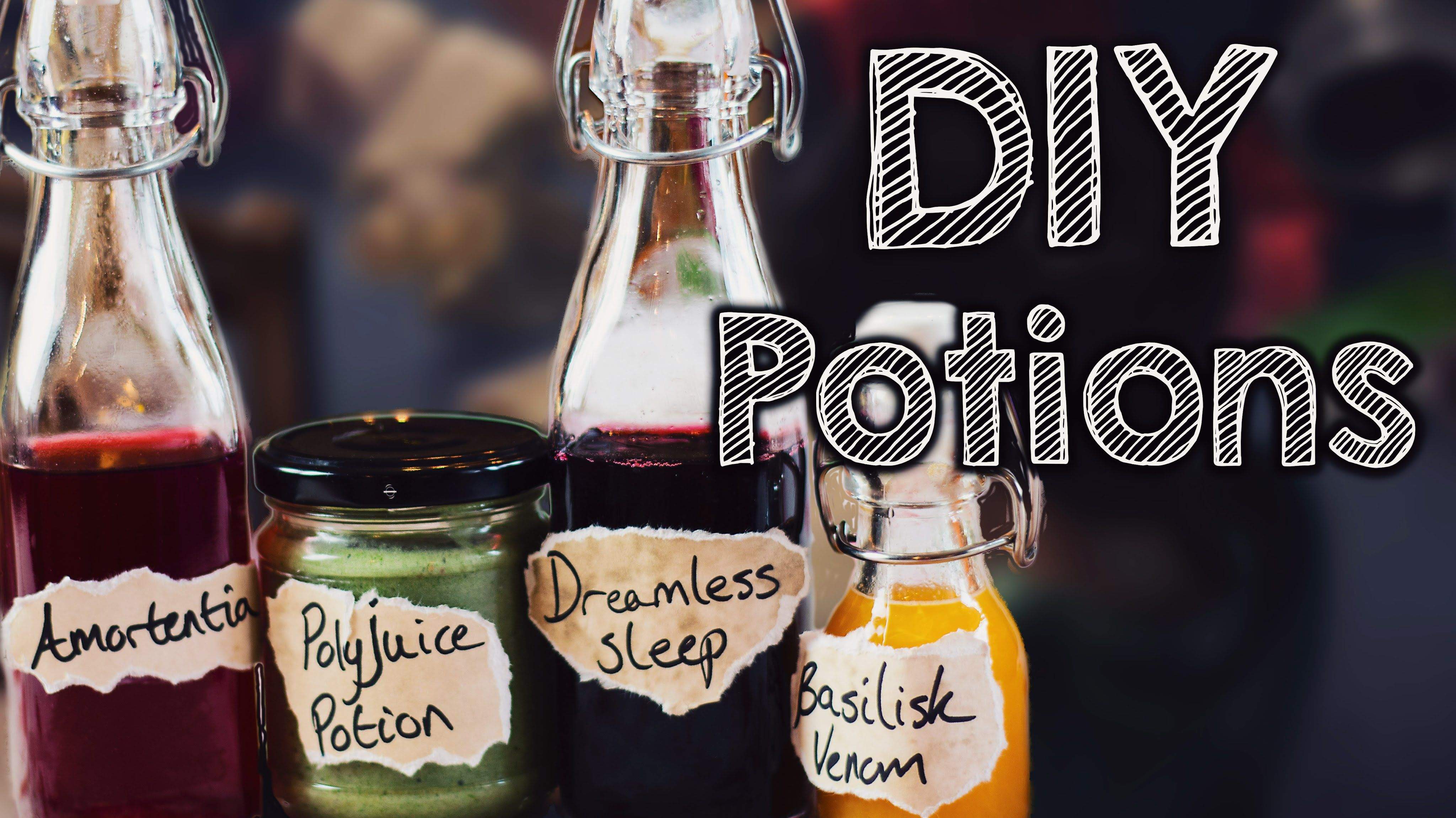 Diy Harry Potter Potions Edible In