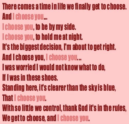 NLT - I CHOOSE YOU LYRICS - SongLyrics.com