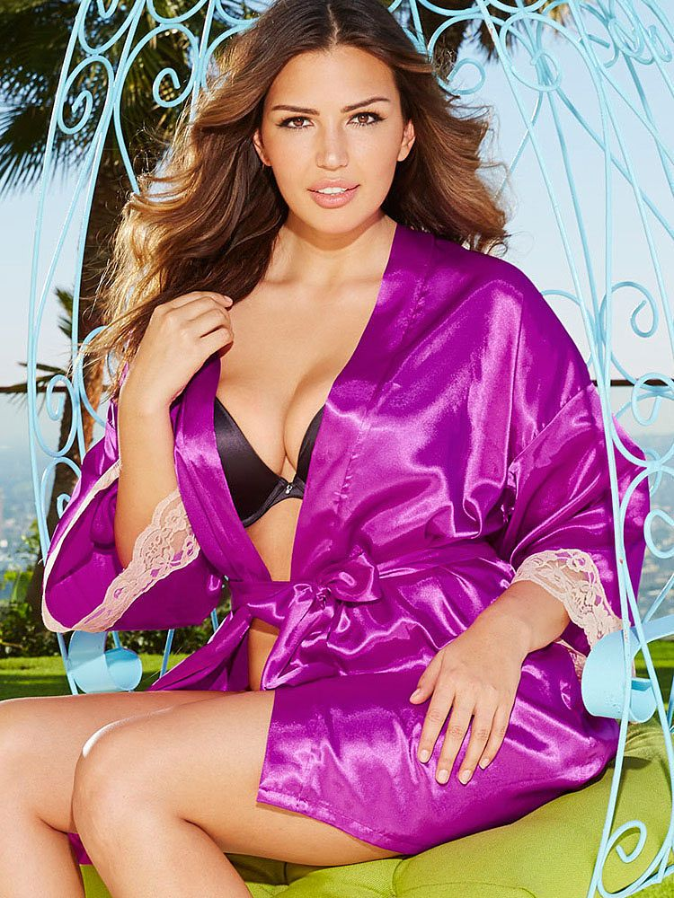 7f862b02e0fe9 Frederick s of Hollywood Harlow Satin Robe. Was  36.00. Now  24.99. Satin  Lingerie