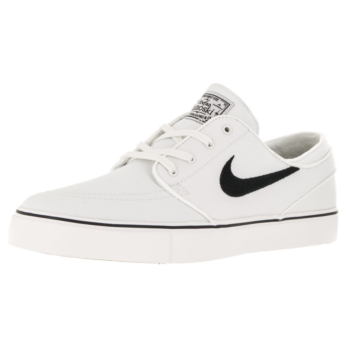 Wear these traditional-style Nike Zoom Stefan Janoski Summit skate shoes  whether you're