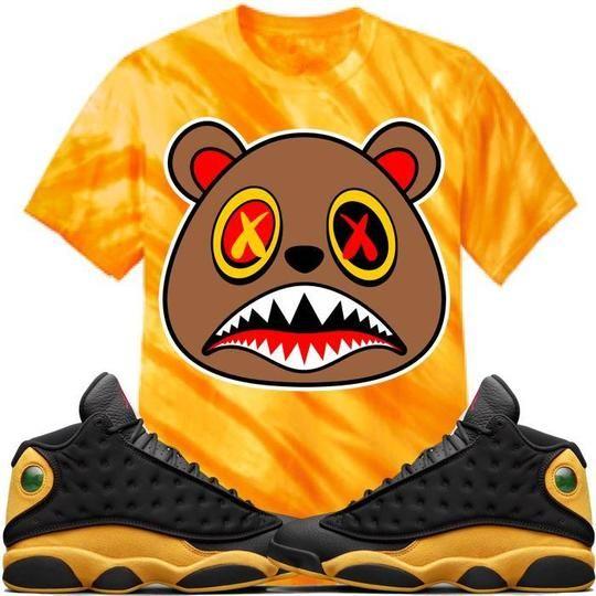 a006e8e6c0f4b4 Baws T-Shirt HONEY BAWS Tiger Stripe Sneaker Tees Shirt - Jordan 13 Oak  Hill Melo