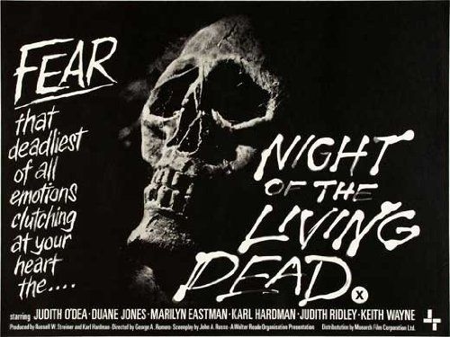 Night of the Living Dead POSTER Movie (30 x 40 Inches - 77cm x 102cm) (1968) (UK Style B) @ niftywarehouse.com