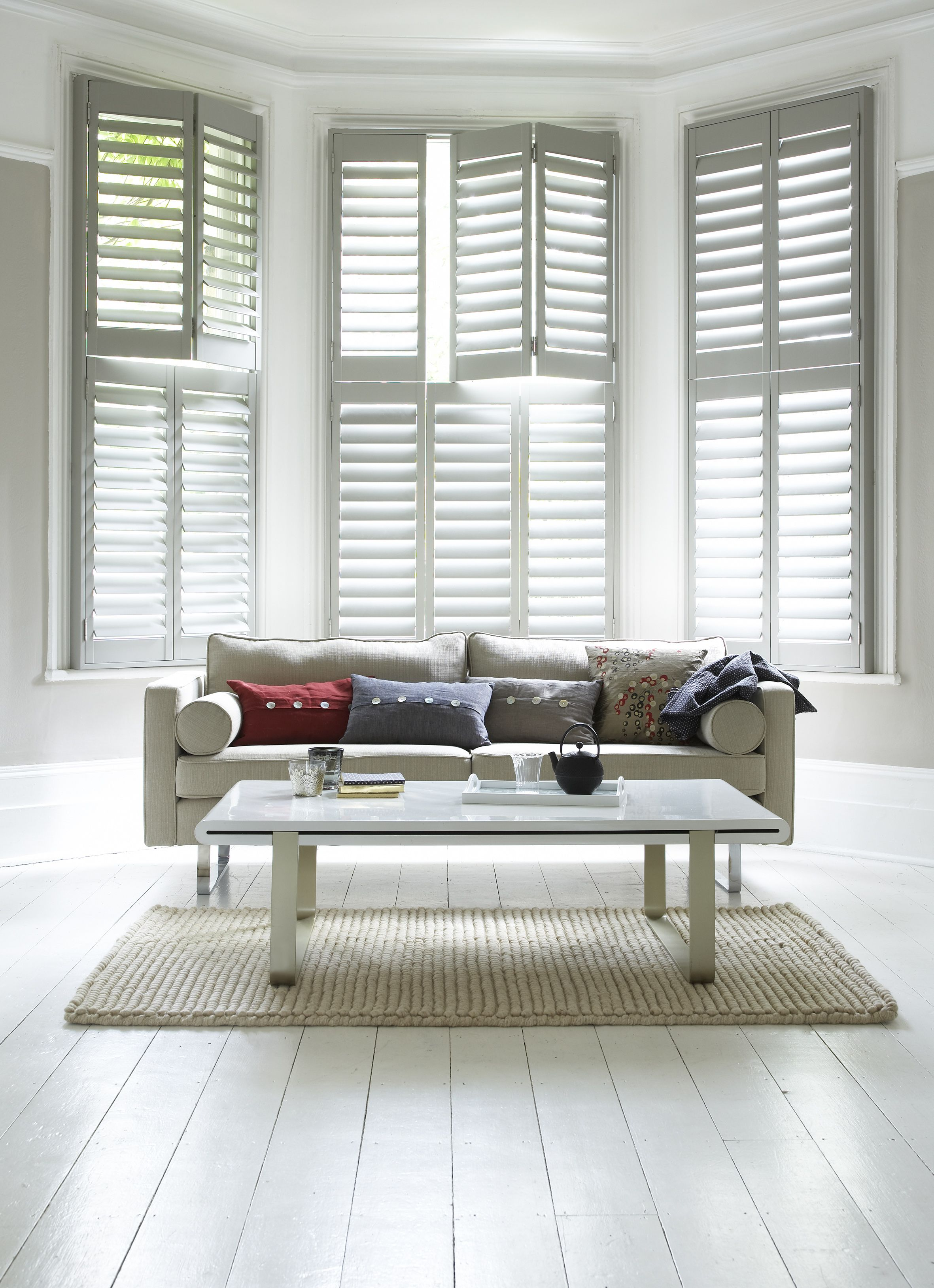 Highprofile Shutters Combine Strength And Durability With Elegant Design And Help You Provide The Right Mix Of Light Airflow And Temperatu Wooden Window Shutters Interior Shutters Interior Windows