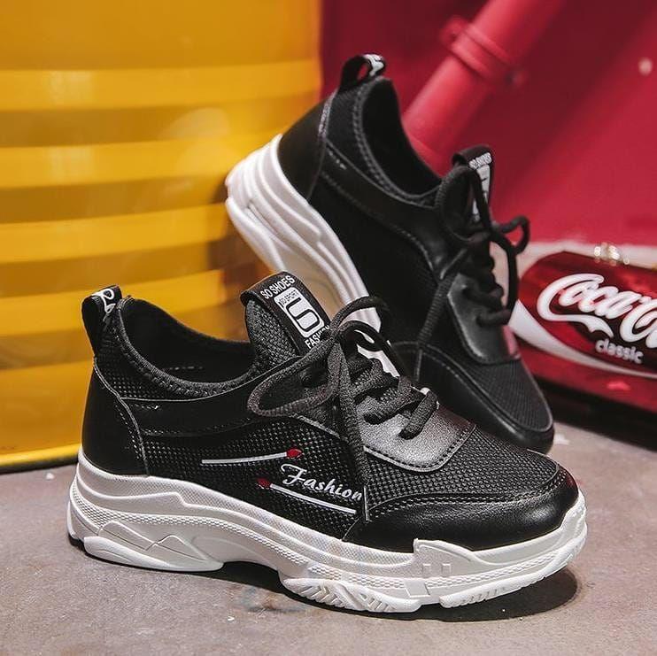 Harga Rp190 000 Fv Sepatu Sport Wanita Korea Type 3016 Size 36