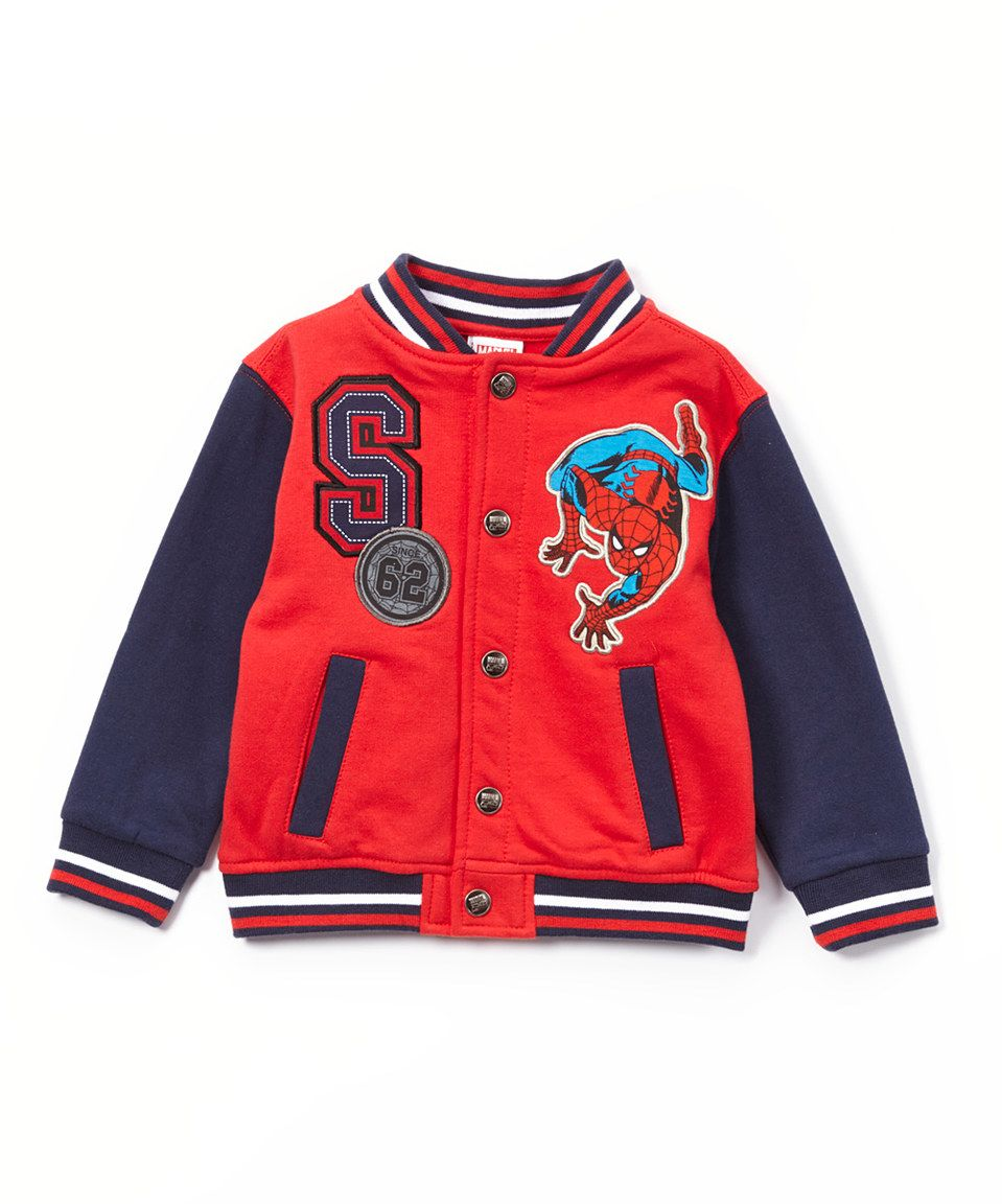d3498faf9b97 Love this Amazing Spider-Man Varsity Jacket - Toddler by Penguin ...