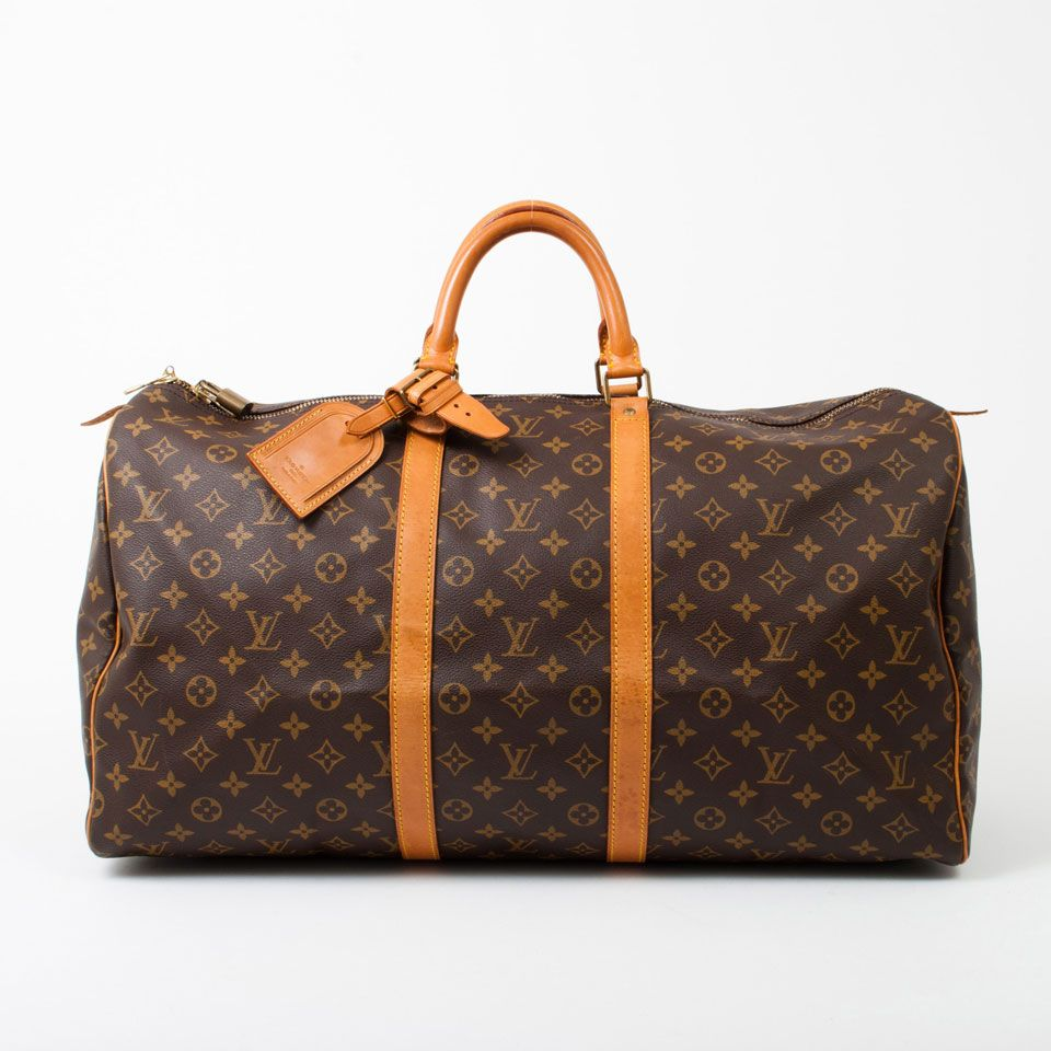 Used Louis Vuitton Keepall 55 In Monogram Cheap Louis Vuitton Bags Cheap Louis Vuitton Handbags Louis Vuitton Artsy Mm