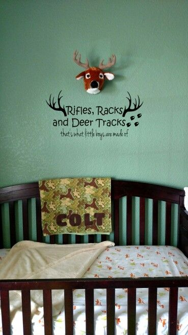 Boys Hunting Theme Nursery Baby Room Themes Boy Decor