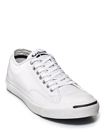 2ad6202b1ae2 Real Men Do...wear Converse Jack Purcell Leather Sneakers