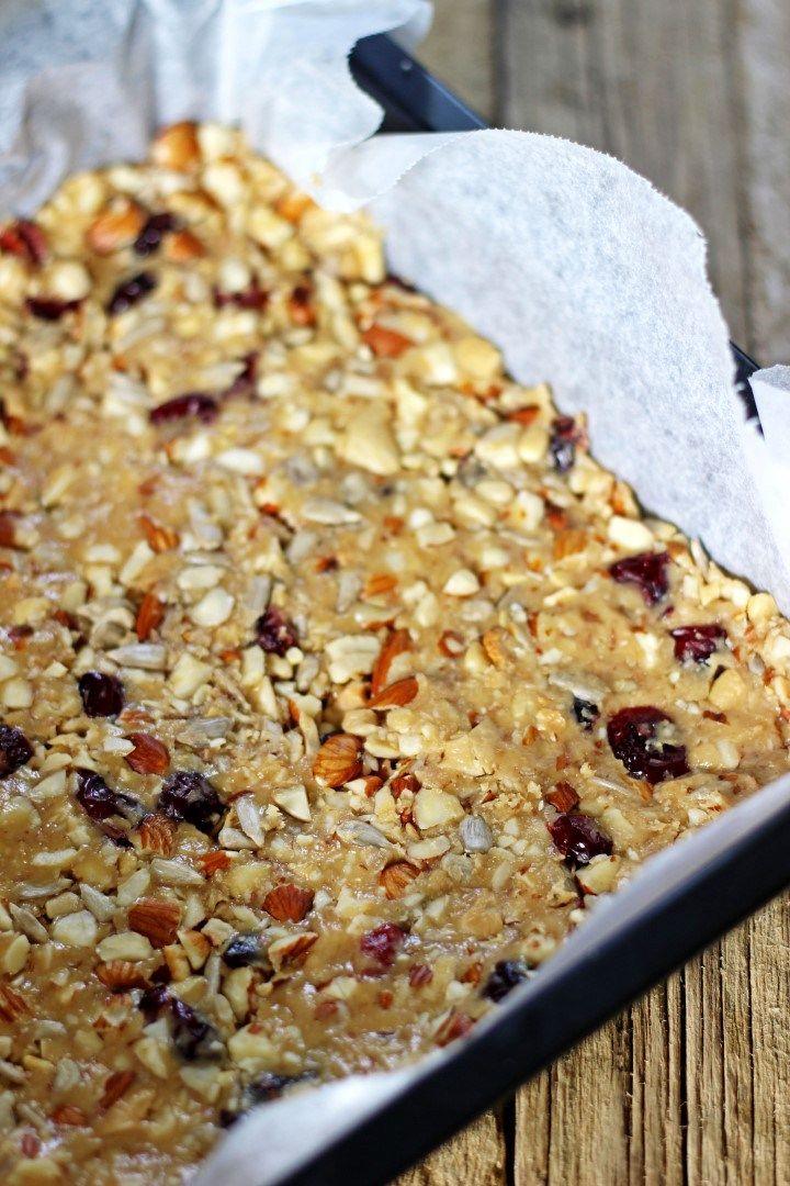 Cranberry almond snack bars recipe cranberry almond