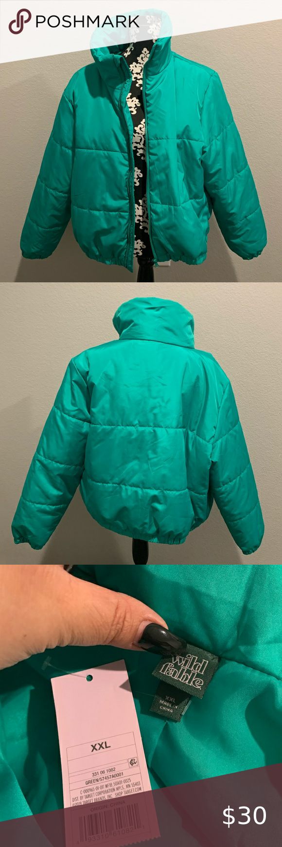 Wild Fable Trap Puffer Jacket Nwt Brand New Never Worn Wild Fable Jackets Coats Puffers Puffer Jacket Women Yellow Puffer Jacket Red Puffer Jacket [ 1740 x 580 Pixel ]