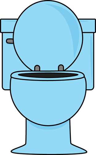 Blue Toilet With The Lid Up Clip Art Blue Toilet With The Lid Up Image Pink Toilet Clip Art Vintage Kitsch