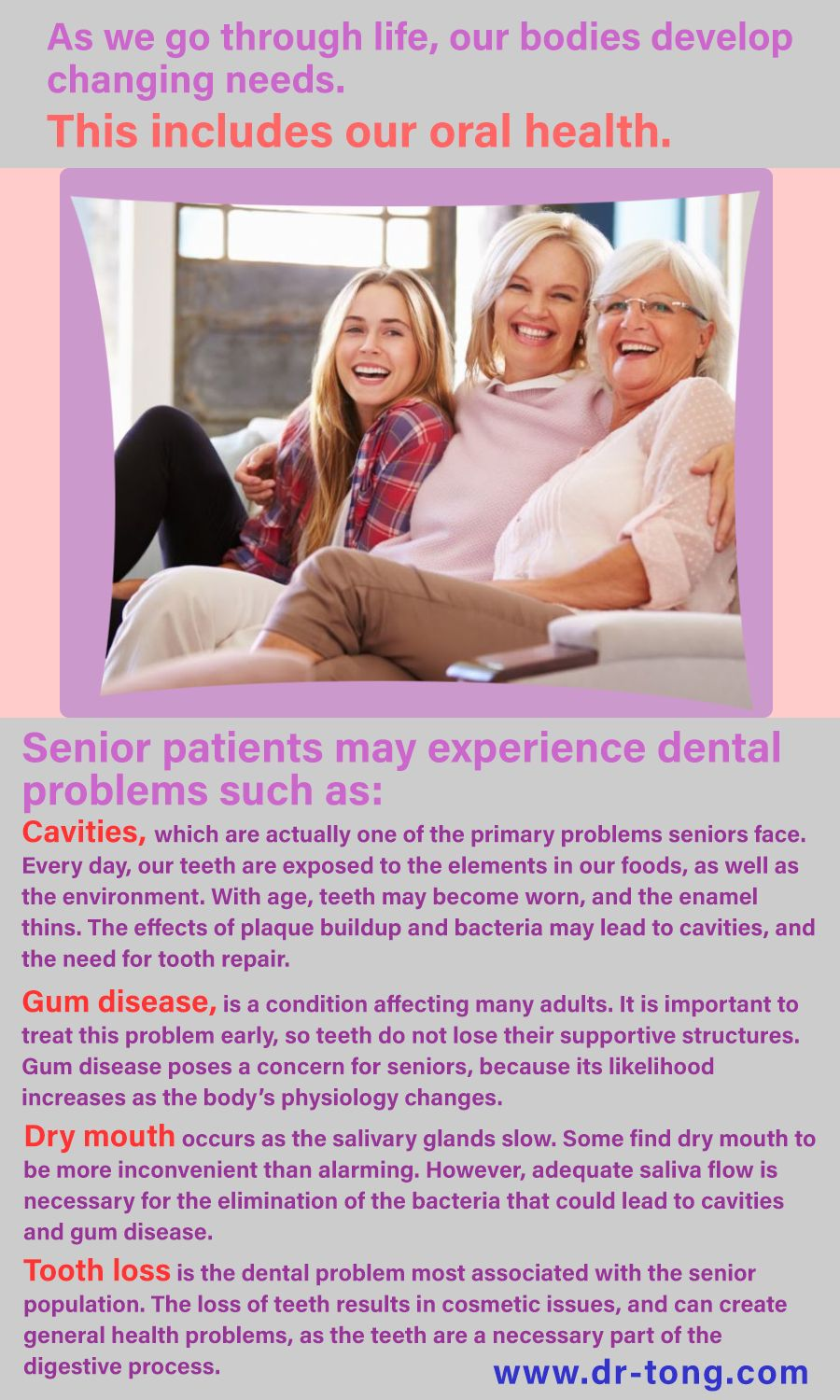 Dentists believe with a team effort patients can enjoy