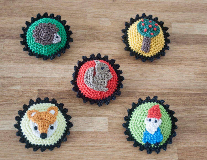 Tutorial Amigurumi Sombrero Broche : Amigurumi pattern carl the cactus pdf pattern crochet