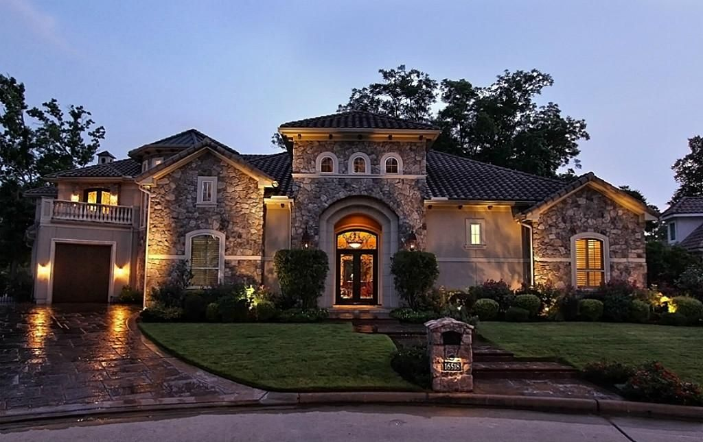 Tuscan style homes in houston tx house design plans for Houston home designers