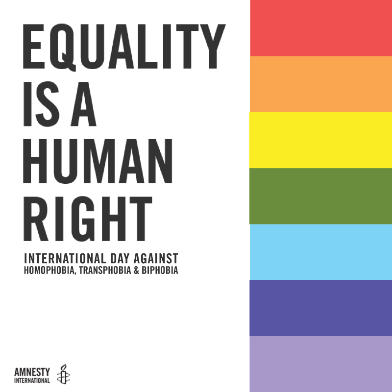 International Day Against Homophobia, Transphobia, and Biphobia