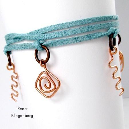 Wide Wrap Ankle Bracelet