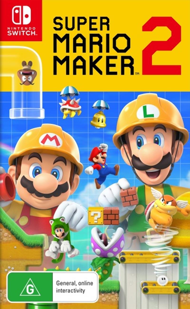 Super Mario Maker 2 Nintendo Switch Super Mario Super Mario Mario
